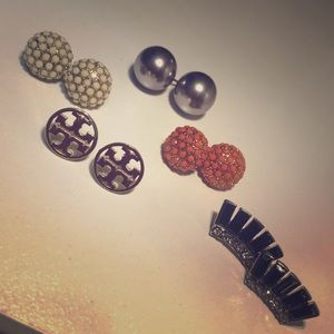 Tory Burch within an assortment of ear studs!!